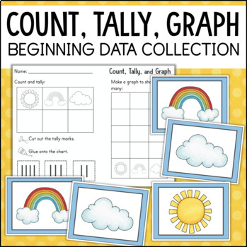 Kindergarten Measurement and Data: Count, Tally, Graph