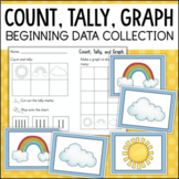 Count Tally and Graph - Data and Graphing for Beginners - Kindergarten Math
