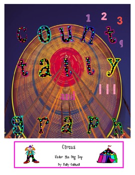 Count, Tally & Graph --- Circus Fun {CC aligned}