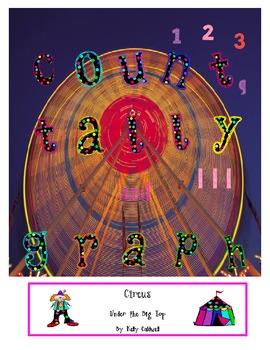 Count, Tally & Graph --- Circus Fun {CC aligned}