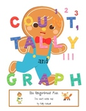 Count, Tally & Graph --- The Gingerbread Man {CC aligned}