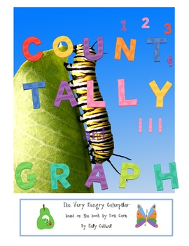 Count, Tally & Graph --- The Very Hungry Caterpillar {CC aligned}