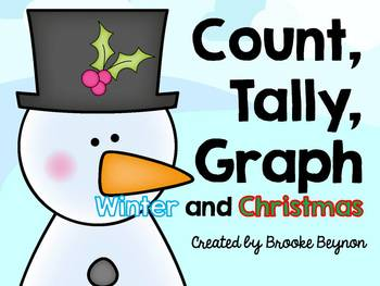 Count, Tally, Graph - Winter and Christmas