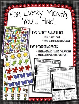Count, Tally, Graph and Add --- Monthly Graphing All Through The Year