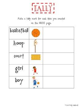 Count, Tally & Graph --- basketball {CC aligned}