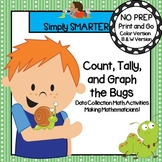 NO PREP Bug Themed Count, Tally, and Graph Data Collection Activities