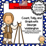 Count, Tally, and Graph with George Washington:  Data Coll