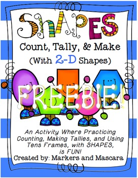 Count, Tally, and Make with 2D Shapes