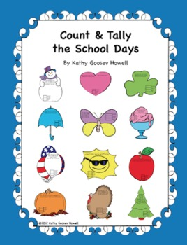 Count & Tally the School Days (12 Month Charts)