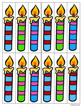 Count The Candles 1-10