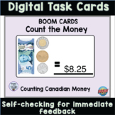 Count The Money Canadian version #DistanceLearningTPT