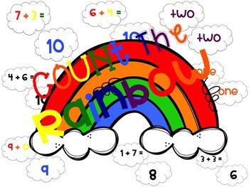 Count The Rainbow - Math Fluency Activity