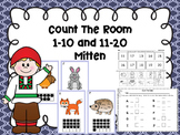 Count The Room 1-10 and 11-20 -Mitten