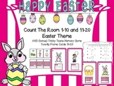 Count The Room 1-10 and 11-20 Easter Theme with bonus