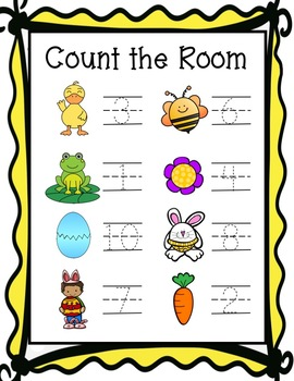Count The Room - April/Easter
