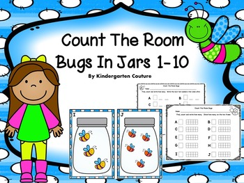Count The Room - Bugs In Jars