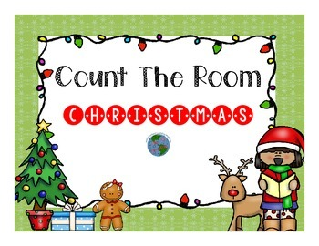 Count The Room Christmas! {Differentiated}