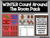 Count The Room: Christmas, Hanukkah, Reindeer, Gingerbread Pack