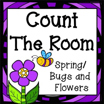 Count The Room - Spring/Bugs and Flowers