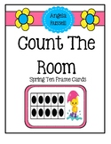 Count The Room - Spring Ten Frames
