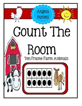 Count The Room - Ten Frame Farm Animals