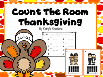 Count The Room Thanksgiving 1-10 and 11-20