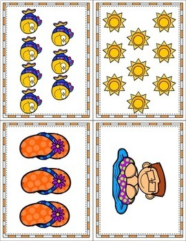 Count The Room Through The Summer - Differentiated