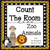 Count The Room - Zoo Animals - Differentiated