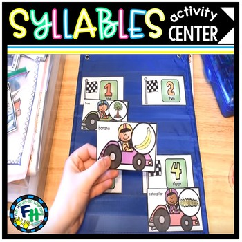 Count The Syllables Activity