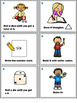 Number Sense Activities - Math Task Cards - Count, Think & Move with Number 6