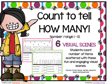 Count To Tell How Many-Visual Scenes