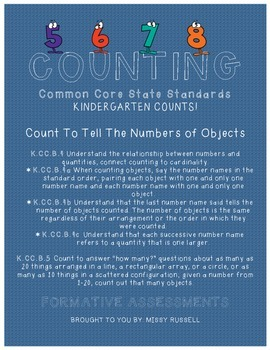 Count To Tell The Number of Objects