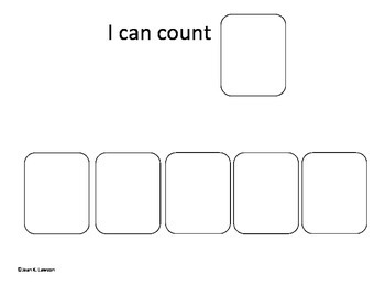 Count & Trace 1-10; Make an Interactive Book