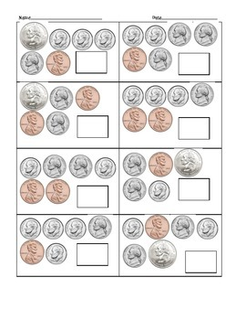 Count Up the Coins! Learning Page