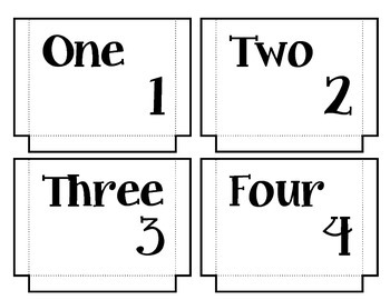 Count With Me Math Center. Counting. Preschool. Puzzle. Sorting.