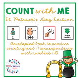 Count With Me: St. Patrick's Day Adapted Book