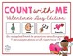 Count With Me: Valentine's Day Adapted Book