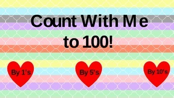 Count With Me: Valentine's Day {1-100}