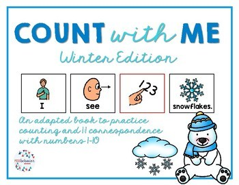 Count With Me: Winter Adapted Book