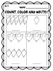 Count, Write and Color It! Fall Edition