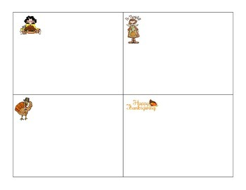 Count Write the Room 1-20 Thanksgiving Fall ESL hands on COMMON CORE