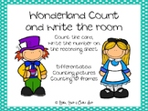 Count& Write the Room: Alice in Wonderland themed