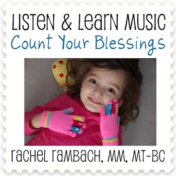Count Your Blessings: Educational Song (MP3 + Instrumental Track + Chords)