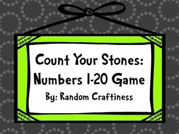 Count Your Stones: Numbers 1-20 Game