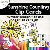 Count and Add Clip Cards: Number Recognition and Adding to