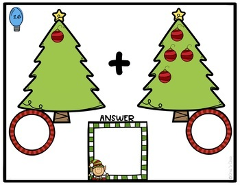 Count and Add Holiday Trees: Counting and Addition to 20 #thankuvets