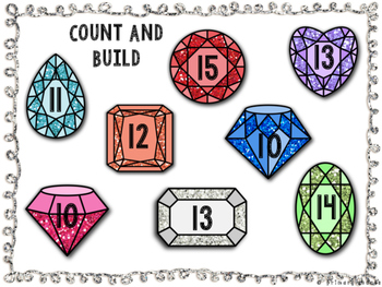 Count and Build - Teen Numbers
