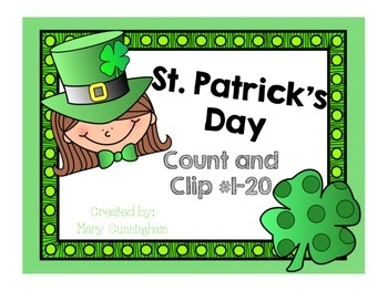 Count and Clip 1-20 {St. Patrick's Day}