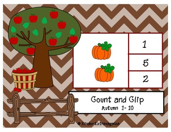 Count and Clip Autumn