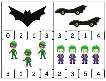 Count and Clip Batman